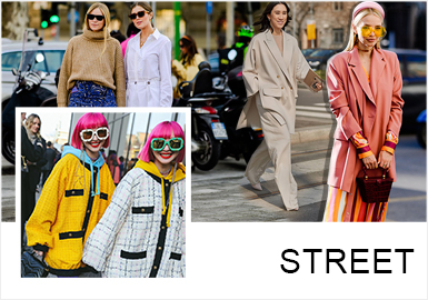 Analysis of A/W 19/20 Street Snaps in Milan Fashion Week