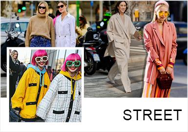 Analysis of A/W 19/20 Street Snaps in Milan Fashion Week
