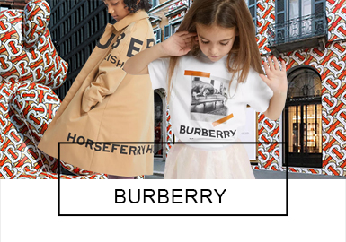 Burberry -- 2019 S/S Recommended Benchmark Brands of Kidswear