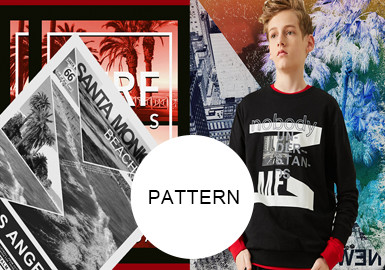 Collage -- 20/21 A/W Pattern Trend for Kidswear