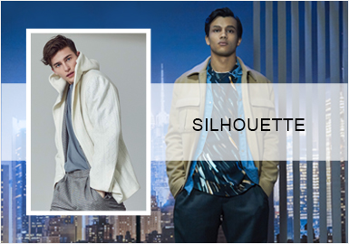 Business Fashionable Jacket -- 20/21 A/W Silhouette Trend for Menswear