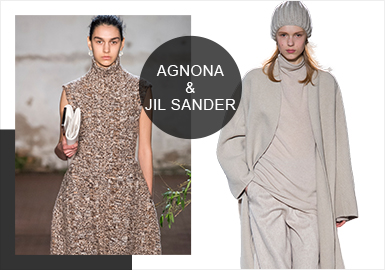 AGNONA & Jil Sander(Minimalism) -- Analysis of 19/20 A/W Catwalk Brands of Women's Knitwear
