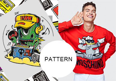 Music Time -- Pattern Trend for 20/21 A/W Menswear