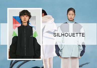 Leisure Outdoor Jacket -- 2020 S/S Silhouette Trend for Womenswear