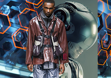 Prediction · Internet of Everything -- 19/20 A/W Confirmation of Color Trend for Menswear