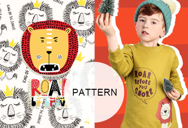 Sweet Beasts -- A/W 20/21 Pattern Trend for Kidswear