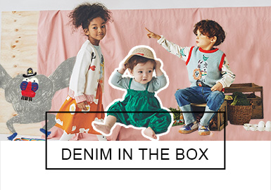 DENIM IN THE BOX -- S/S 2019 Benchmark Brand for Infants and Kids
