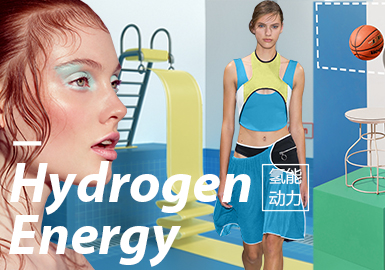 Hydrogen Energy -- S/S 2020 Design and Development for Womenswear