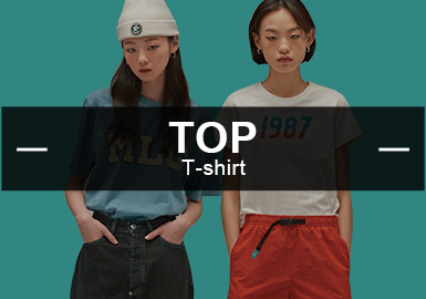 Tee -- The Analysis of Popular Items in Womenswear Markets