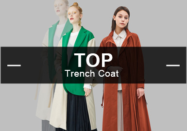 The Trench Coat -- The Analysis of Popular Items in Womenswear Markets