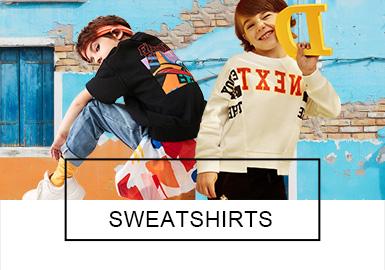 Sweatshirt -- S/S 2019 Analysis of Benchmark Brands for Boy's Wear