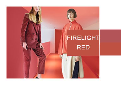 Firelight Red -- A/W 20/21 Color Trend for Womenswear