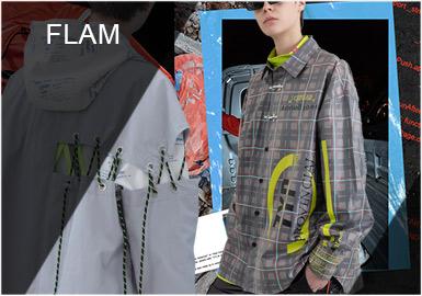 F.L.A.M -- 2019 S/S Menswear Designer Brand
