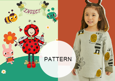 Insects -- A/W 20/21 Pattern Trend for Kidswear