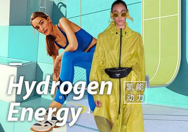 Hydrogen Energy -- 2020 S/S Material Trend for Womenswear