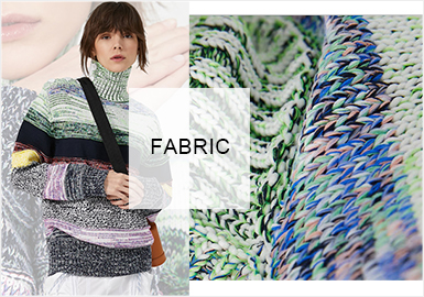Melange Yarns -- A/W 20/21 Materials&Fabrics Trend for Women's Knitwear
