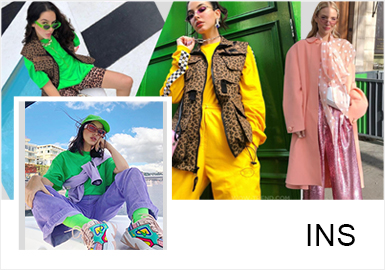 INS Fashion Bloggers -- Cool and Modern Age