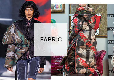 Reform&Vintage -- A/W 20/21 Fabric Trend for Women's Puffer Coats
