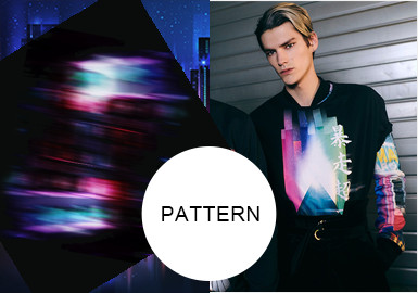 Light and Color -- A/W 20/21 Pattern Trend for Menswear