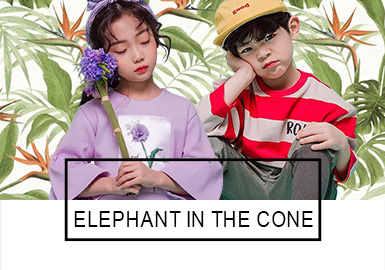 elephant in the cone -- S/S 2019 Benchmark Brand for Kidswear