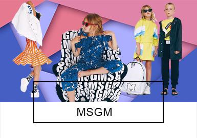 MSGM -- S/S 2019 Benchmark Brand for Kidswear
