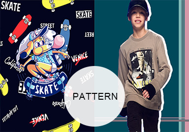 Funky Skateboard -- A/W 20/21 Pattern Trend for Kidswear