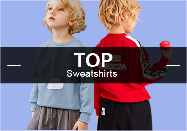 Sweatshirts -- S/S 2019 Popular Items in Boyswear Markets