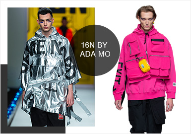 16N by ada mo -- Analysis of A/W 19/20 Catwalk Brands for Menswear