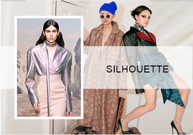 Futuristic Functional -- A/W 20/21 Silhouette Trend for Women's Leather Jackets