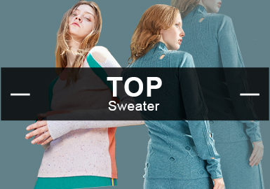 Pullovers -- S/S 2019 Top Items in Women's knitwear Markets