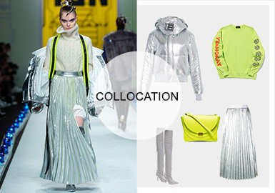 Utility Direction -- A/W 20/21 Clothing Collocation of Women's Puffer Coats