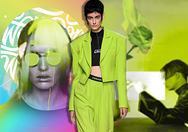 Firefly Green -- S/S 2020 Theme Color Trend for Womenswear
