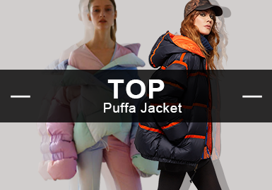 The Puffa -- Analysis of A/W 20/21 Hot Items in Womenswear Market