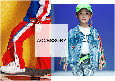 Colorful Webbing -- S/S 2020 Accessories Trend for Kidswear