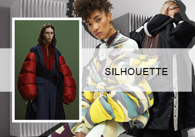 Offbeat Puffa Jackets -- A/W 20/21 Silhouette Trend for Women's Puffa Jackets