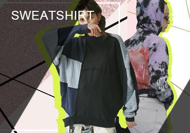 Sweatshirt -- Comprehensive Analysis of S/S 2019 Designer Brands for Womenswear