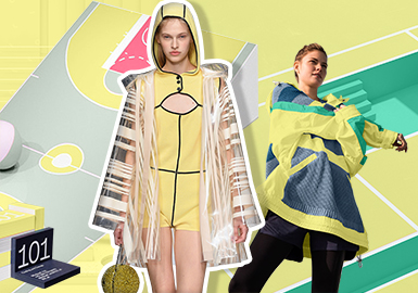Sunny Yellow -- S/S 2020 Theme Color Trend for Womenswear
