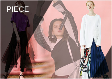 Reshaped Femininity -- Comprehensive Analysis of S/S 2019 Piecing of Women's Designer Brands