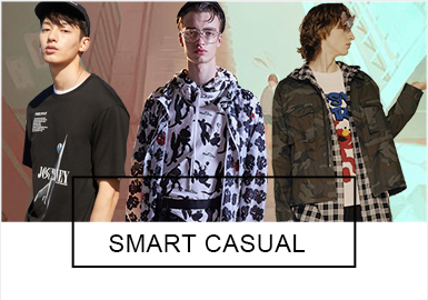 Smart Casual -- Comprehensive Analysis of S/S 2019 Benchmark Brands of Menswear