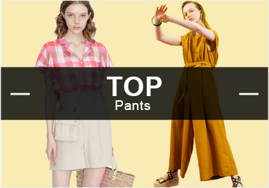 Pants -- S/S 2019 Popular Pants in Womenswear Markets