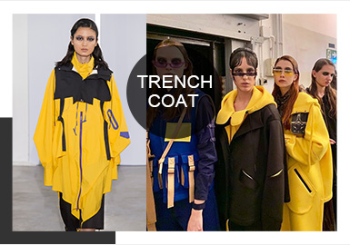 Offbeat Trench Coats -- Comprehensive Analysis of A/W 19/20 Catwalks for Women's Trench Coats