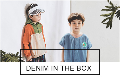 DENIM IN THE BOX -- Recommended S/S 2019 Benchmark Brand for Kidswear