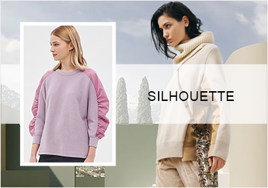 Pared-Back Sweatshirts -- A/W 20/21 Silhouette Trend of Women's Knitwear