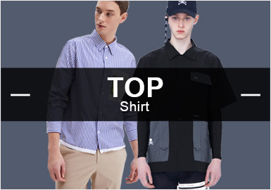 Shirt -- S/S 2019 Popular Items in Menswear Markets