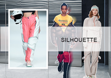 Renewed Pants -- A/W 20/21 Silhouette Trend for Womenswear