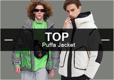 Puffa Jacket -- A/W 19/20 Popular Items in Menswear Markets