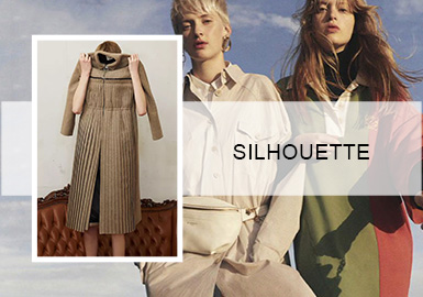 Unrestrained Silhouettes -- Silhouette Trend for Women's Dresses