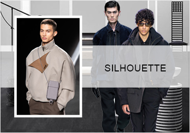 Smart Business -- Silhouette Trend for Men's Jackets
