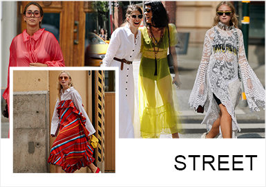 Dresses -- Comprehensive Analysis of Women's Items in Street Snaps