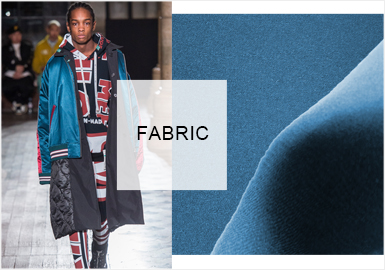 Charismatic Materials -- Fabric Trend for Men's Coats